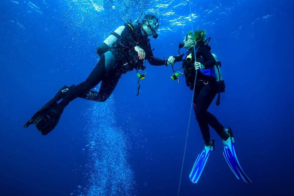 scuba diving danger