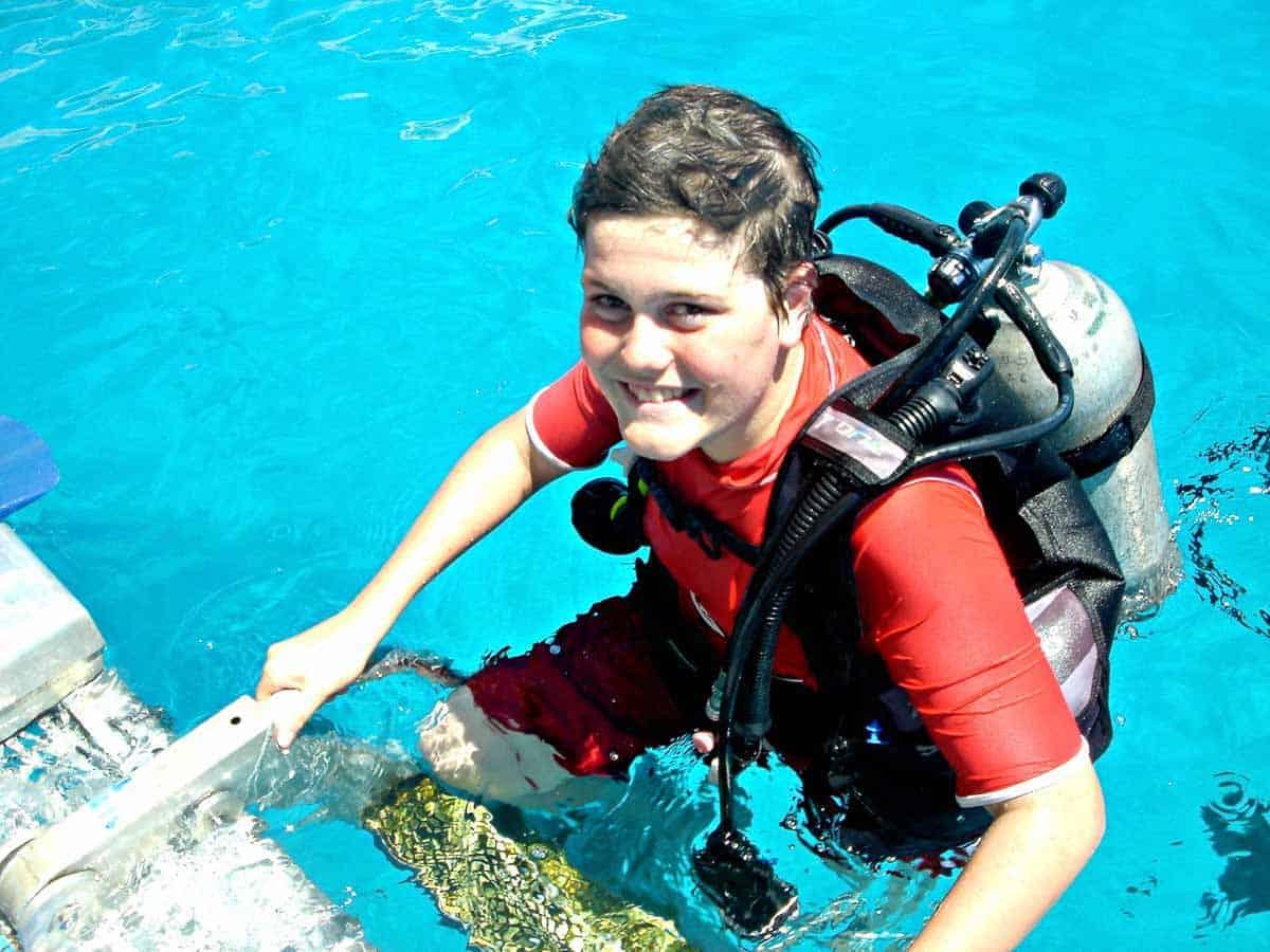 scuba diving age limits