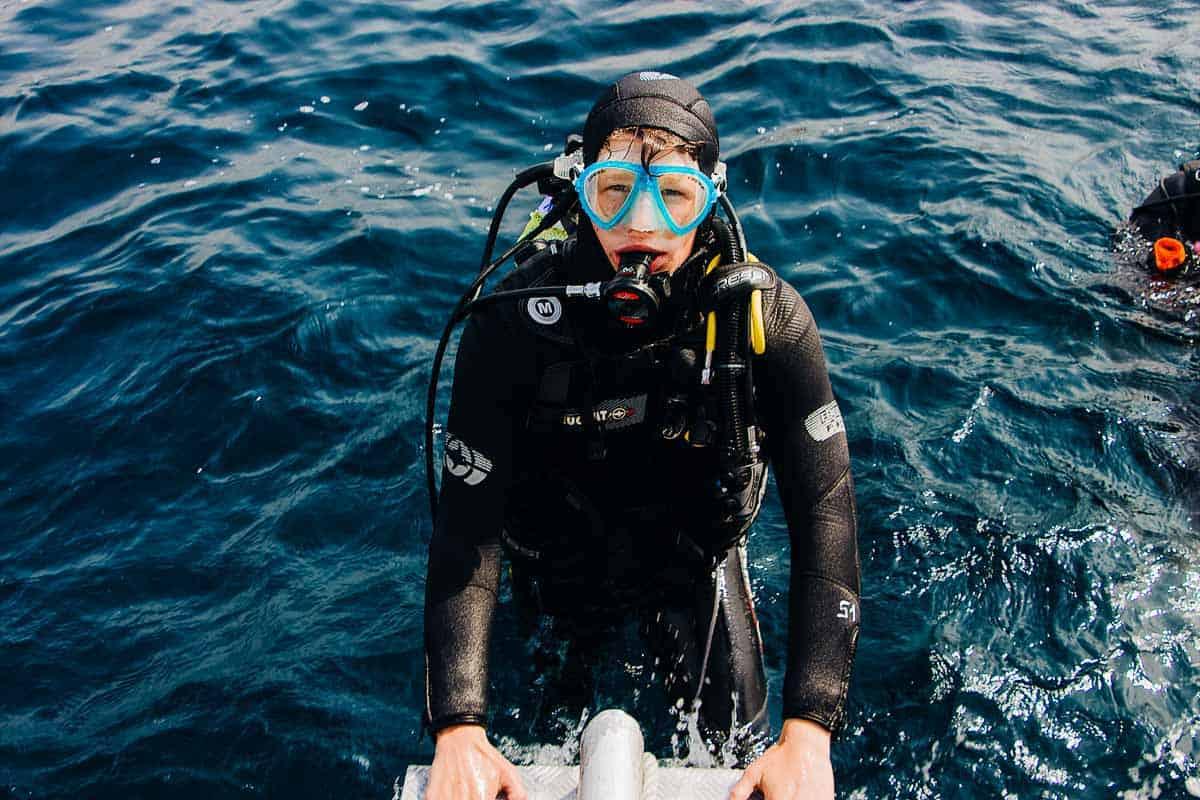 scuba diving for children
