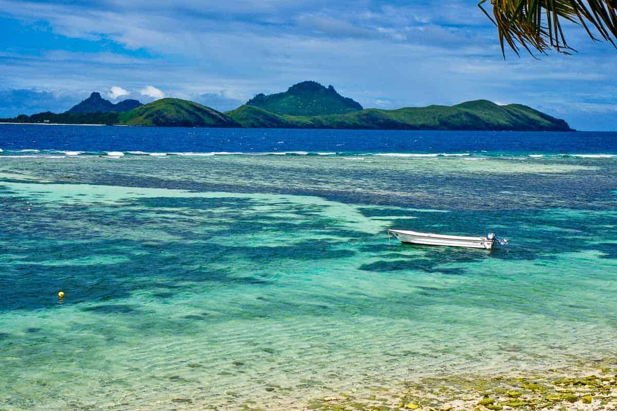fiji island beaches