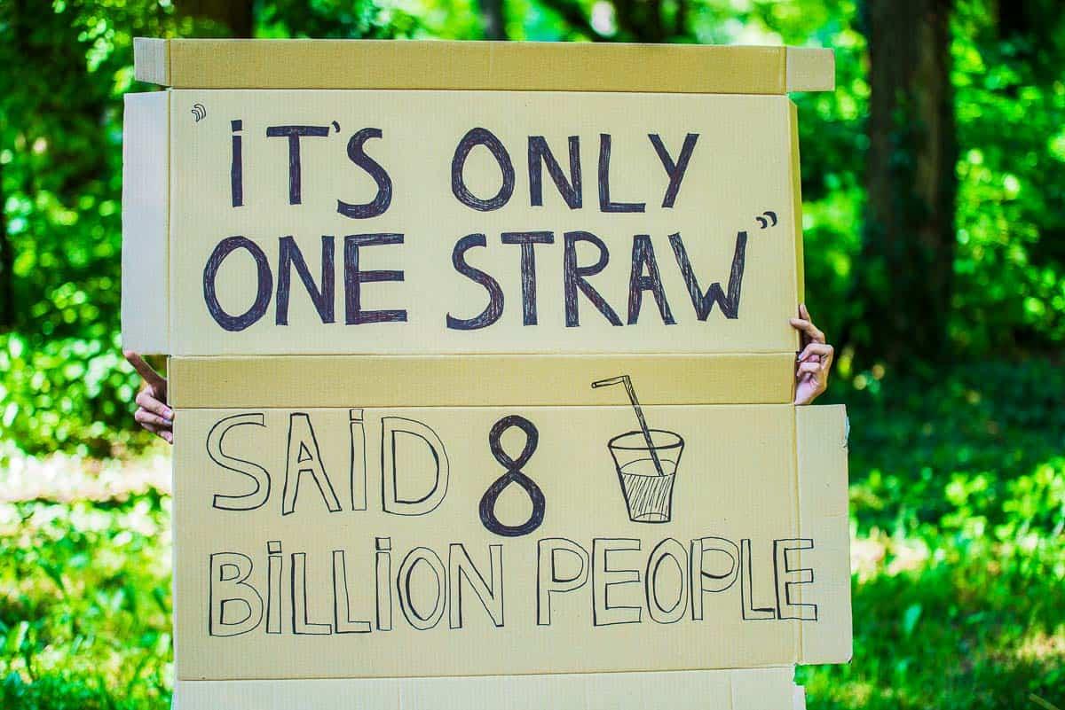 non plastic straws