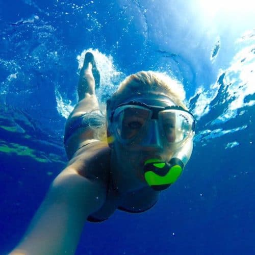 Heather wyatt scuba diving