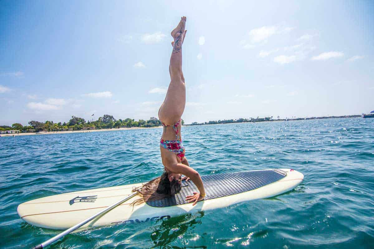 affordable paddle board for yoga