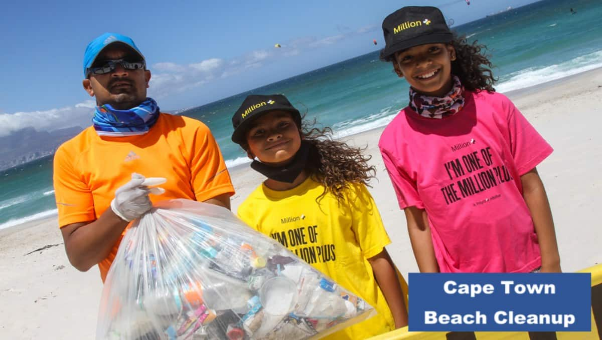 GOING BLUE WITH CLEAN C: BEACH CLEANUP HEROISM